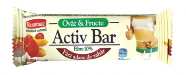 baton activ bar fructe tropicale