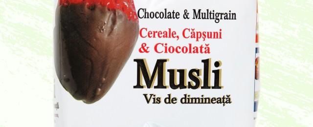 musli ciocolata vis de dimineata