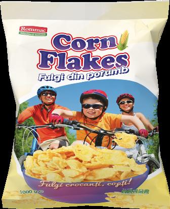 Fulgi de porumb Cornflakes Rommac