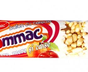 Baton de cereale visina si catina Rommac