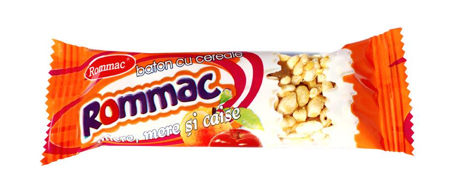 Batoane din cereale Rommac, gustarea sanatoasa dintre mese!